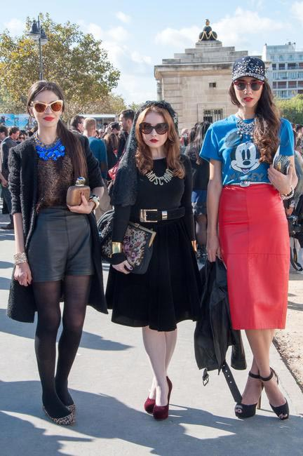 Paris Fashion Week, Picture Courtesy Sonia Zaghbani