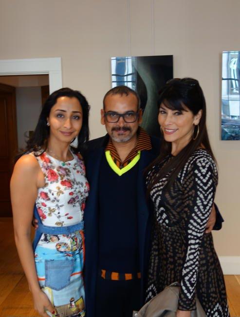 Priyanka Gill, Subodh Gupta and Feroze Gujral