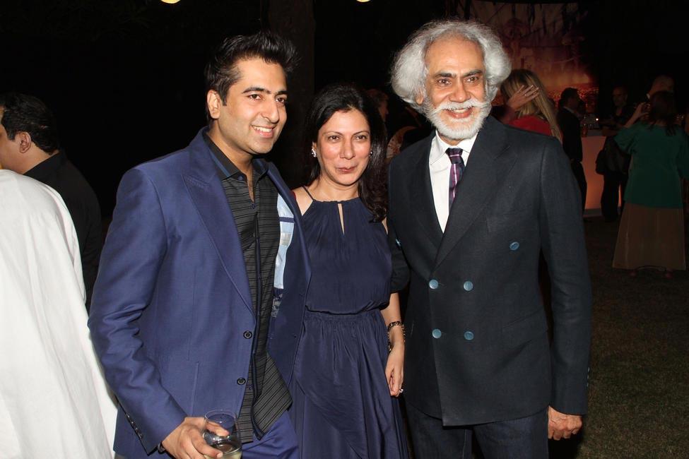 Rahul Khanna, Harmeet Bajaj with Sunil Sethi