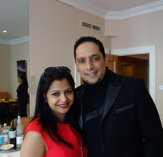 Rajeeb and Nadia Samdani