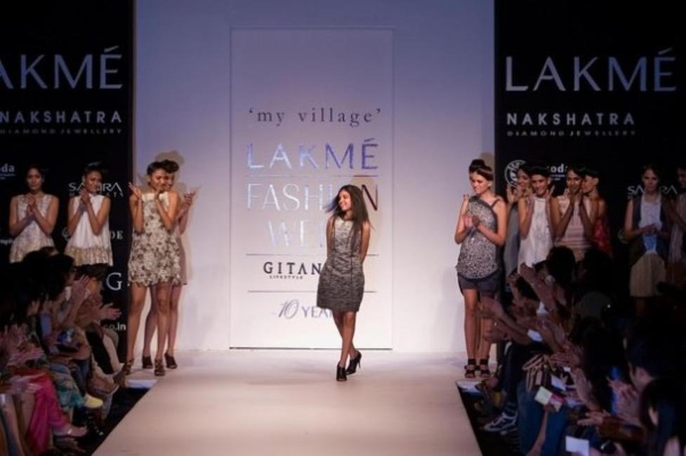 Rimzim Dadu, Picture Courtesy Lakme Fashion Week