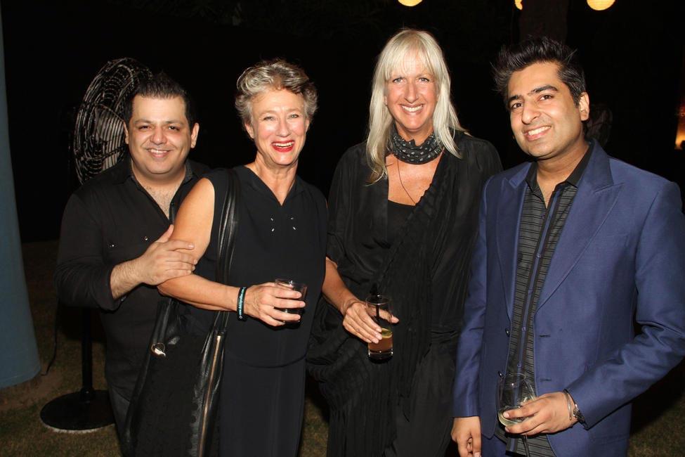 Rohit Gandhi, christine, Mariette Hoitink with Rahul Khanna