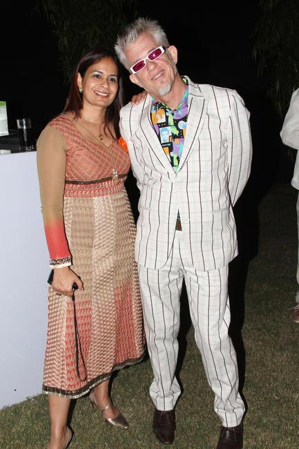 Sharmila bihari with Peter Grant
