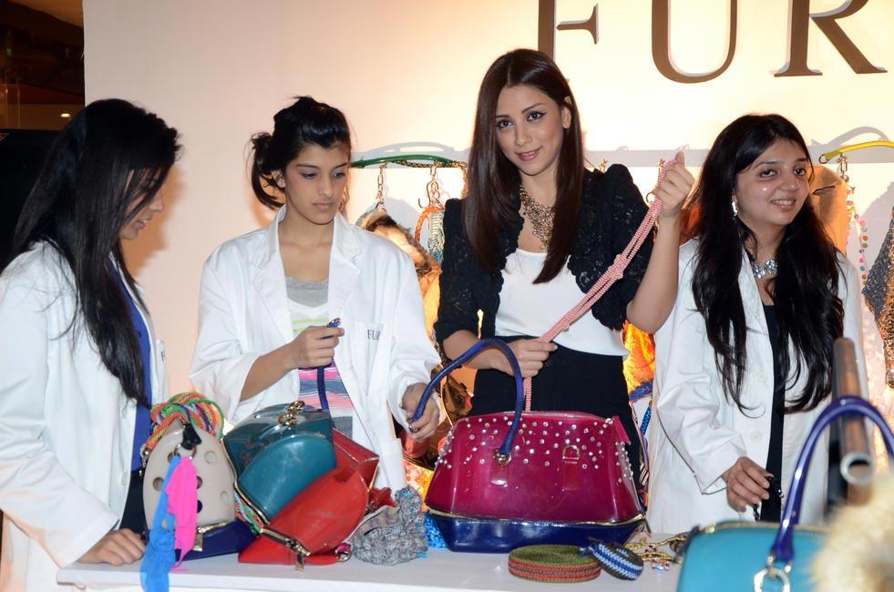 Students with Amrita Puri