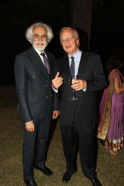 Sunil Sethi with Alphonsus Stoelinga, Ambassadorof The Netherlands