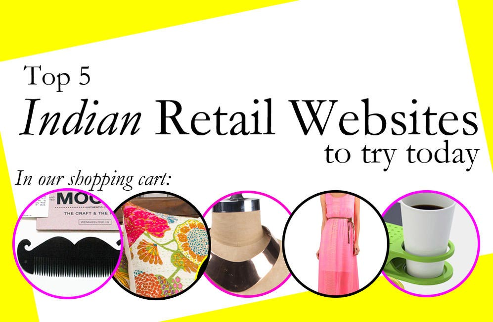 Top 5 Indian Retail Websites