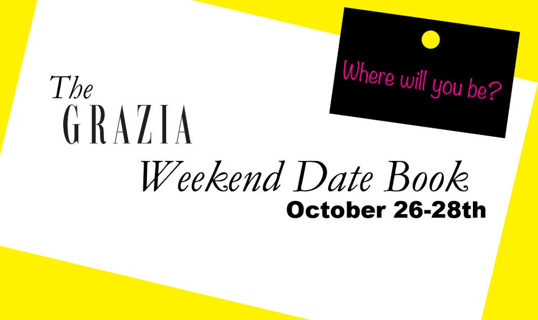 Weekend Datebook template 26-28