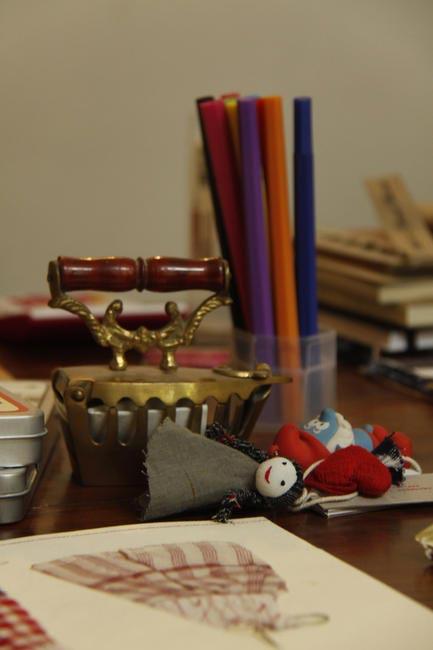 Aneeth Arora's Work-desk, Picture Courtesy Varun Sikka