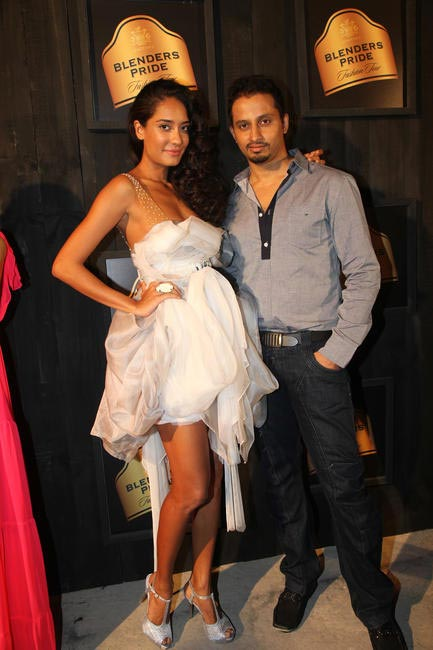At Blenders Pride FashionTour Preview-Gaviin Miguel and Lisa Haydon