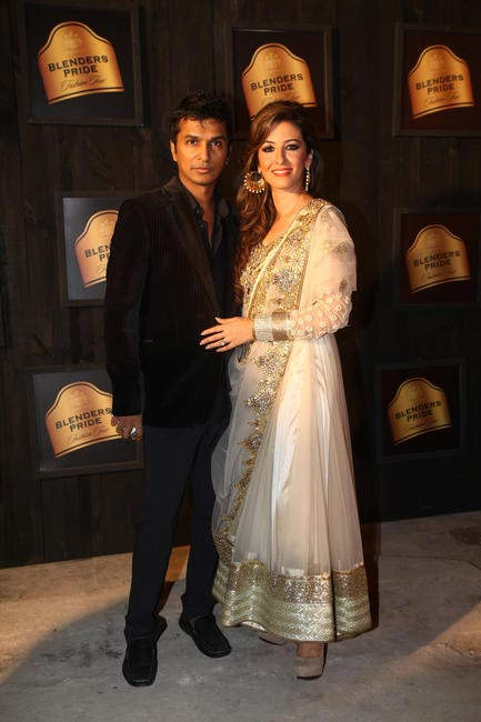 At Blenders Pride FashionTour Preview- Vikram Phadnis and Perizaad Zorabian