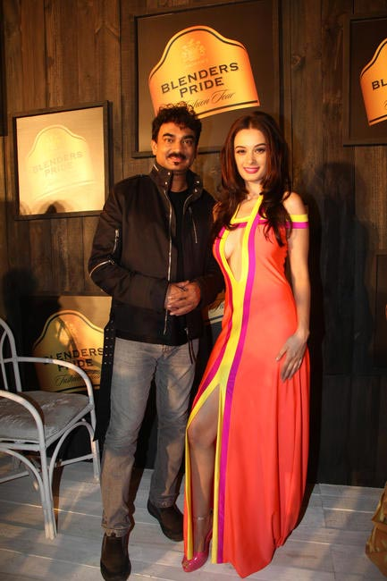 At Blenders Pride FashionTour Preview-Wendell Rodricks and Evelyn Sharma