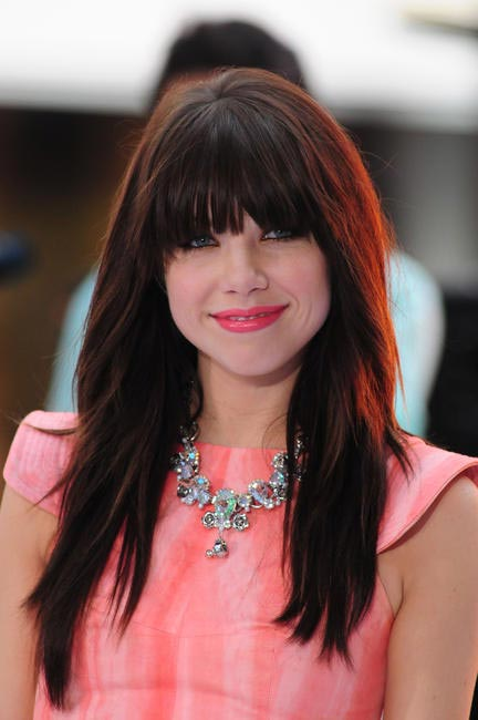 Carly Rae Jepsen performs live at The Today Show in New York