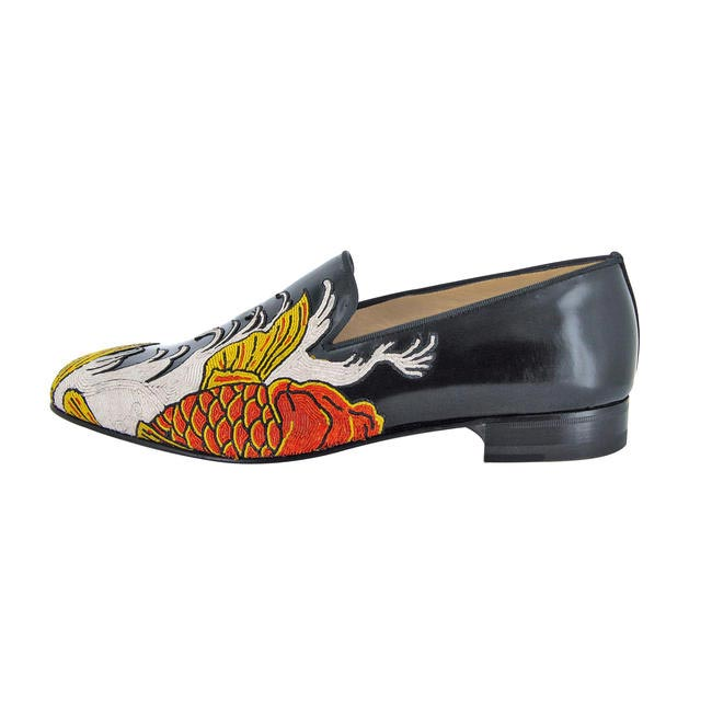Carp tattoo shoe, Christian Louboutin, price on request