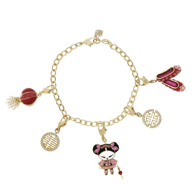Charm Bracelet, Swarovski, Rs. 3,000