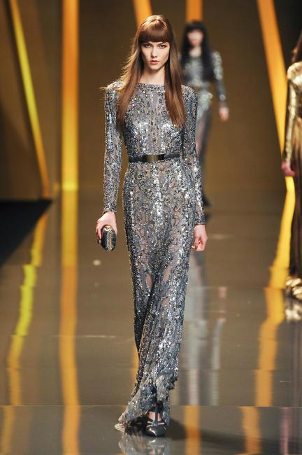 Elie Saab, F/W 2012, Picture Courtesy Imax Tree
