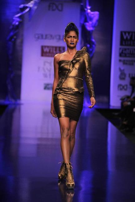 Gaurav Gupta A_W 2012, Picture Courtesy Wills India Fashion Week