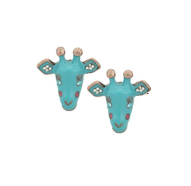 Giraffe Earrings Punk