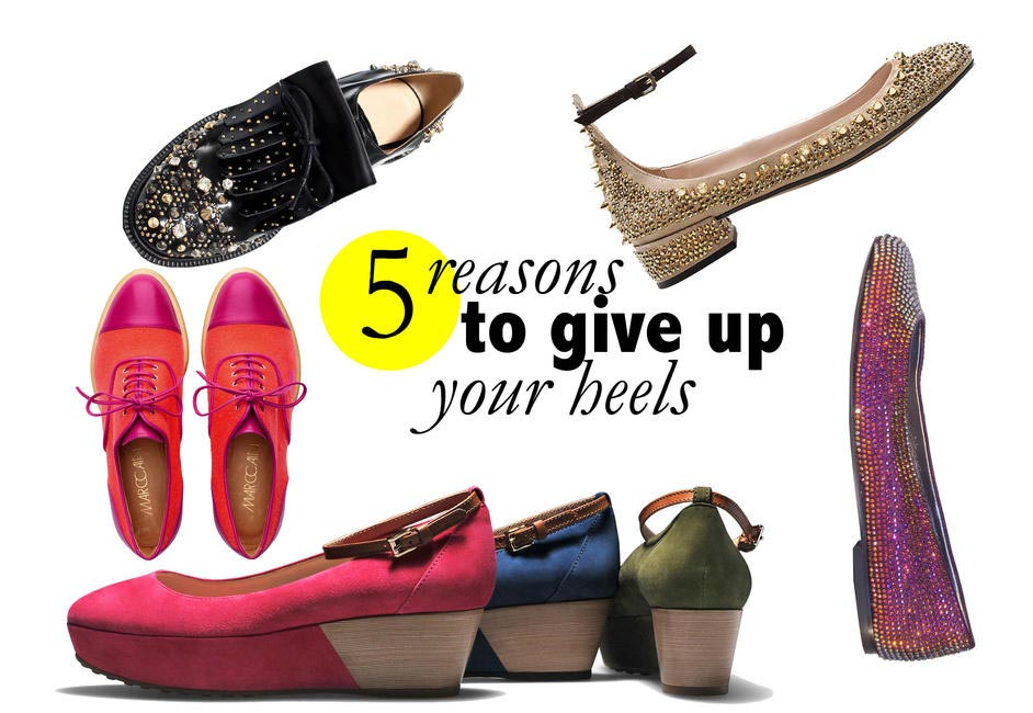 give up your heels