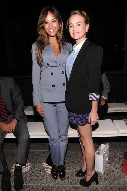 Kelsey Chow and Britt Robertson, Picture Courtesy Getty Images