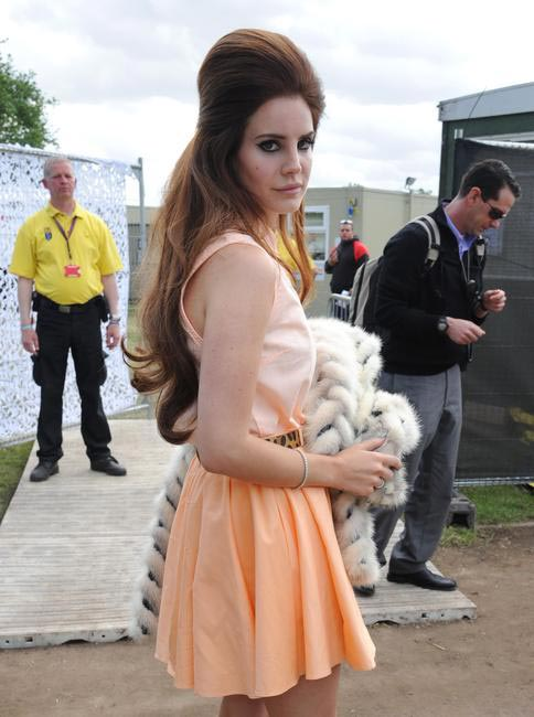 Lana Del Rey,  Picture Curtesy The Celebrity City