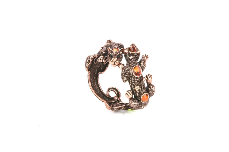 Lizard Cuff, Curio Cottage, Rs. 2,100