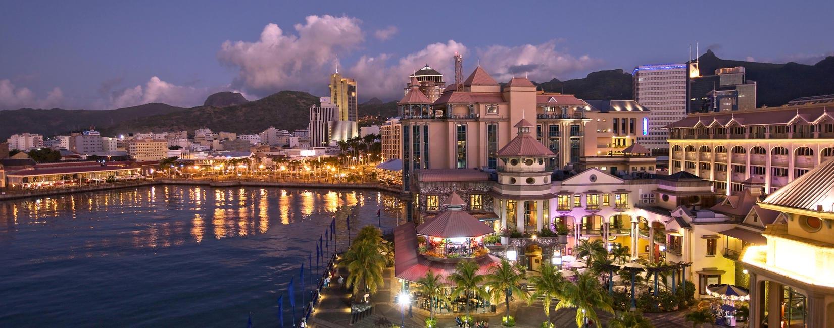 Port Louis - Capital City, Picture Courtesy Mauritius tourism promotion authority