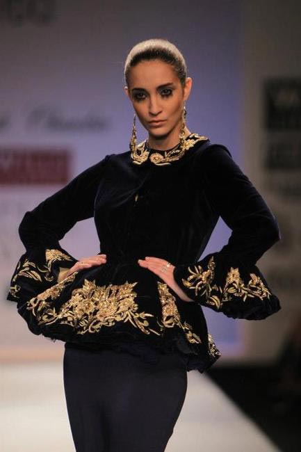 Preeti Chandra Picture Courtesy Wills Lifestlye India Fashion Week