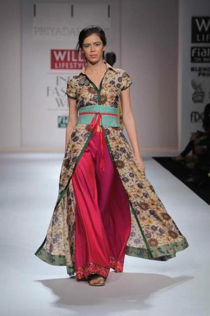 Priyadarshini Rao, Picture Courtesy Wills Lifestyle India Fashion Week