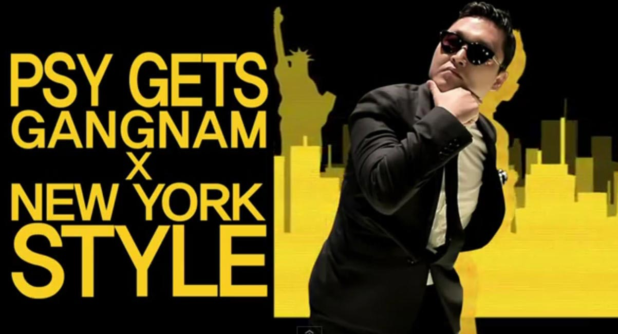 Psy gets Gangnam Style, Still from Jill Stuart Video