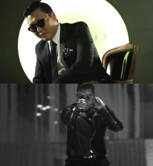 PSY, Still from Jill Stuart Teaser