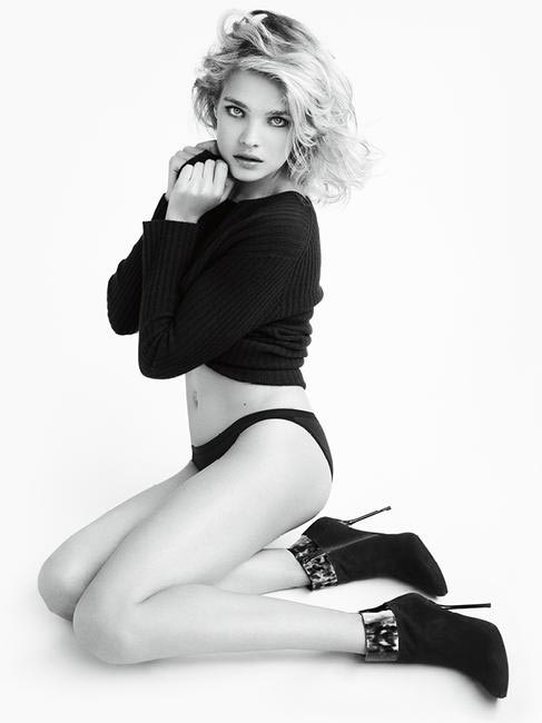 Stuart Weitzman Campaign: Natalia Vodianova photographed by Mario Testino