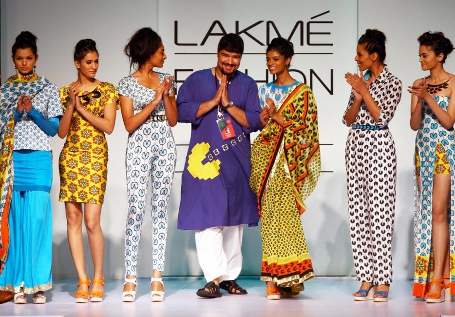 Surendri by Yogesh Choudhary at Lakme Fashion Week Winter/Festive 2012