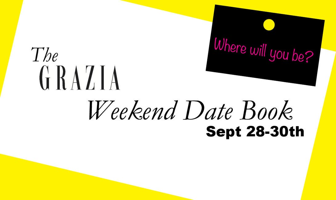 Weekend Datebook template