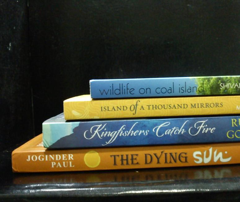 Book Spine Poem #5
