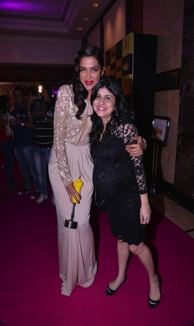 Deepika Padukone with our editor Mehernaaz Dhondy