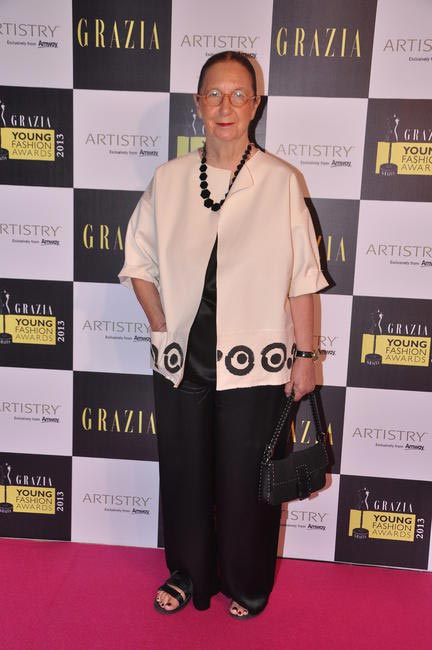 Grazia International Editor-in-chief Carla Vanni
