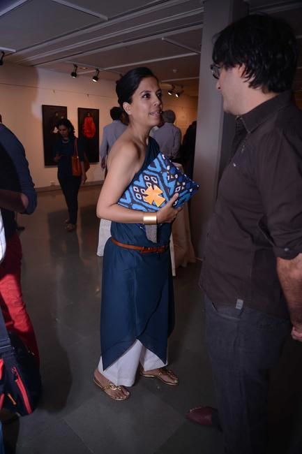 Ila Chatterjee at the Maimouna Guerresi photo exhibition in association with Tod's in Mumbai