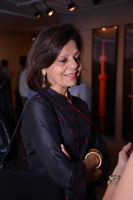 Leetu Shivdasani at the Maimouna Guerresi photo exhibition in association with Tod's in Mumbai