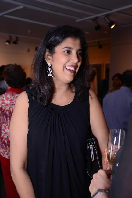Priya Lamba at the Maimouna Guerresi photo exhibition in association with Tod's in Mumbai