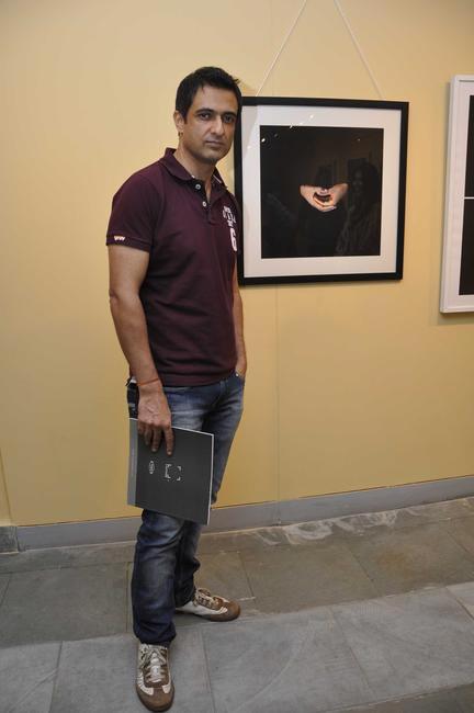 Sanjay Suri at the Maimouna Guerresi photo exhibition in association with Tod's in Mumbai