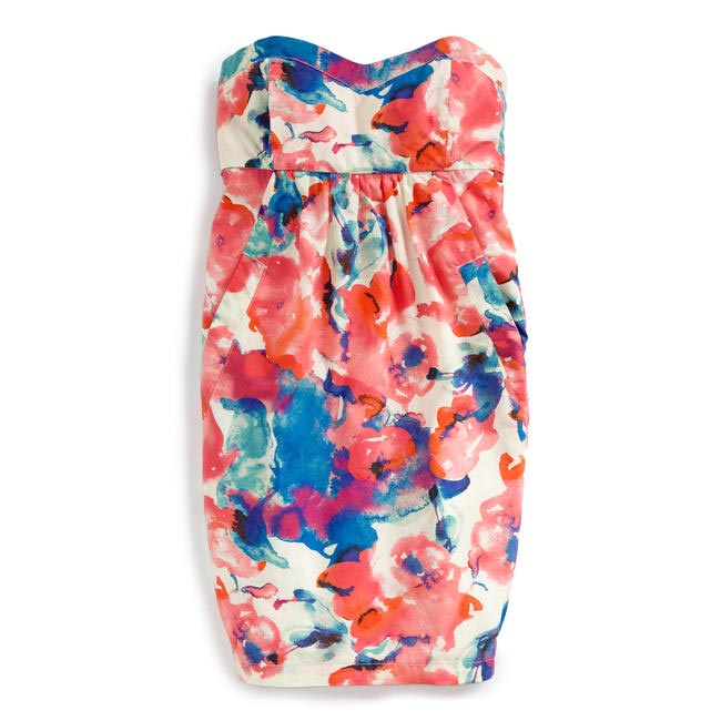 Strapless dress, Levis