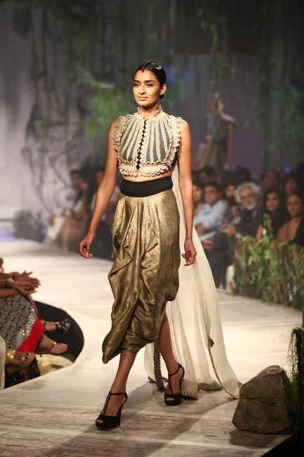 Anamika Khanna at PCJ Delhi Couture Week 2013