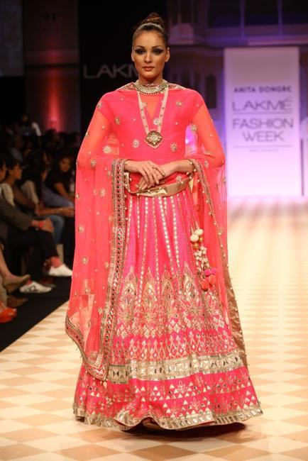 Anita Dongre's Jaipur Bride at LFW WF '13