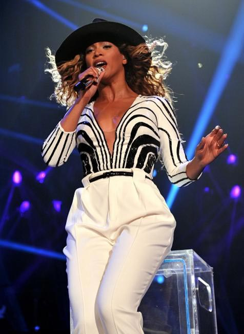 Beyonce debuted Gucci outfits during her Barclays Center shows