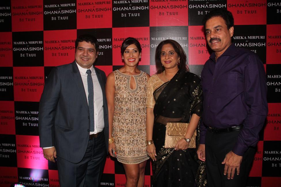 Gautam Ghanasingh, Maheka Mirpuri, Manali Vengsarkar and Dilip Vengsarkar