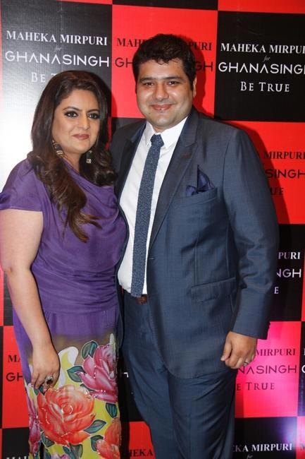 Krishaa & Gautam Ghanasingh