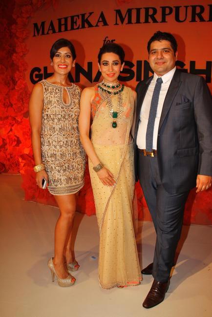 Maheka Mirpuri, Karisma Kapoor and Gautam Ghanasingh (1)