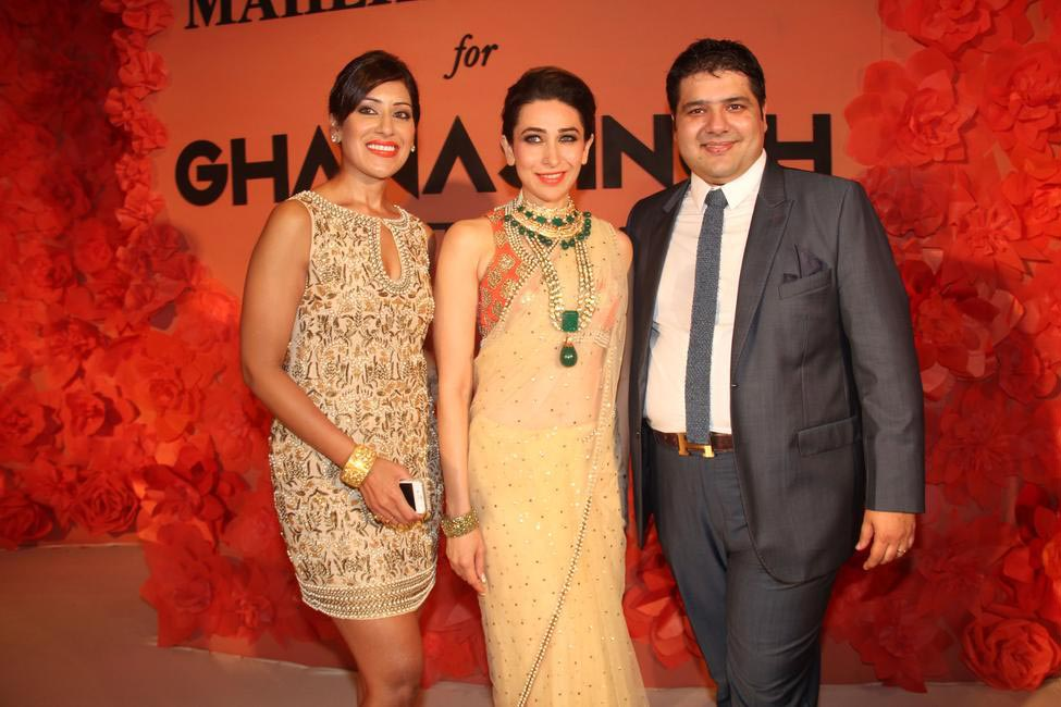 Maheka Mirpuri, Karisma Kapoor and Gautam Ghanasingh (2)