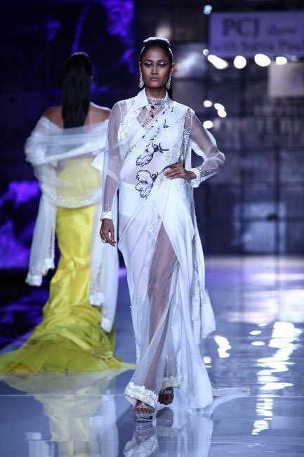 Masaba for Satya Paul at PCJ Delhi Couture Week 2013