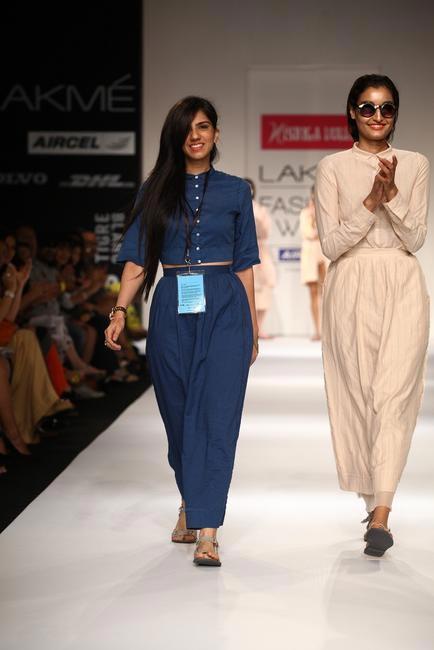Nishka Lulla at Lakme Fashion Week Summer Resort 2013